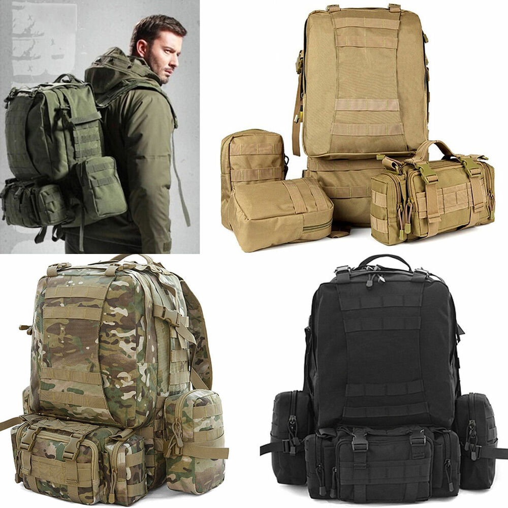 70L Tactical Bag Military Backpack Mountaineering Men Travel Outdoor Sport Bags
