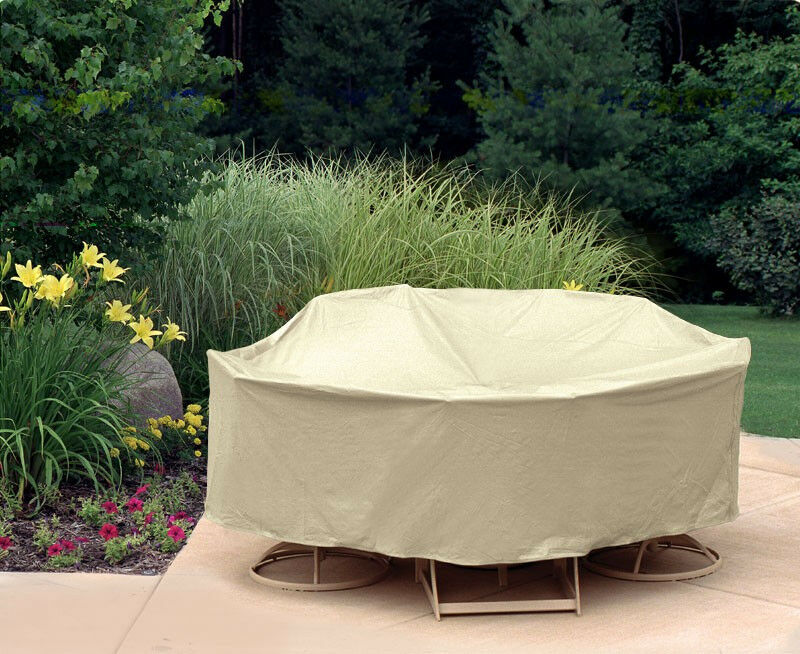 Waterproof Outdoor Table&Chair Patio Furniture Round Cover Protection 92&