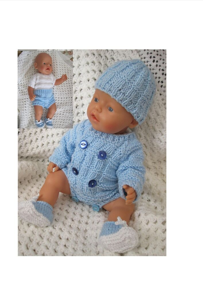 Dolls Clothes Pattern Quot Andrew Quot Baby Born Annabell Other