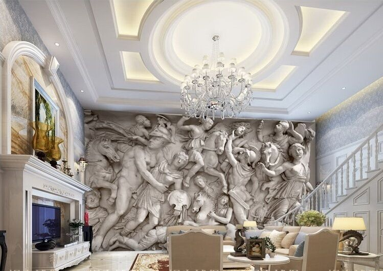3d Wallpaper Bedroom Mural Roll Modern Home Greek Roman