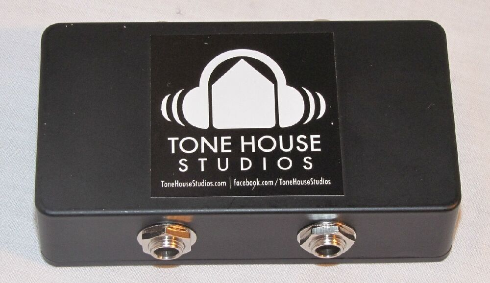 tone house studios guitar pedal pedalboard patchbay patchbox junction box new ebay. Black Bedroom Furniture Sets. Home Design Ideas