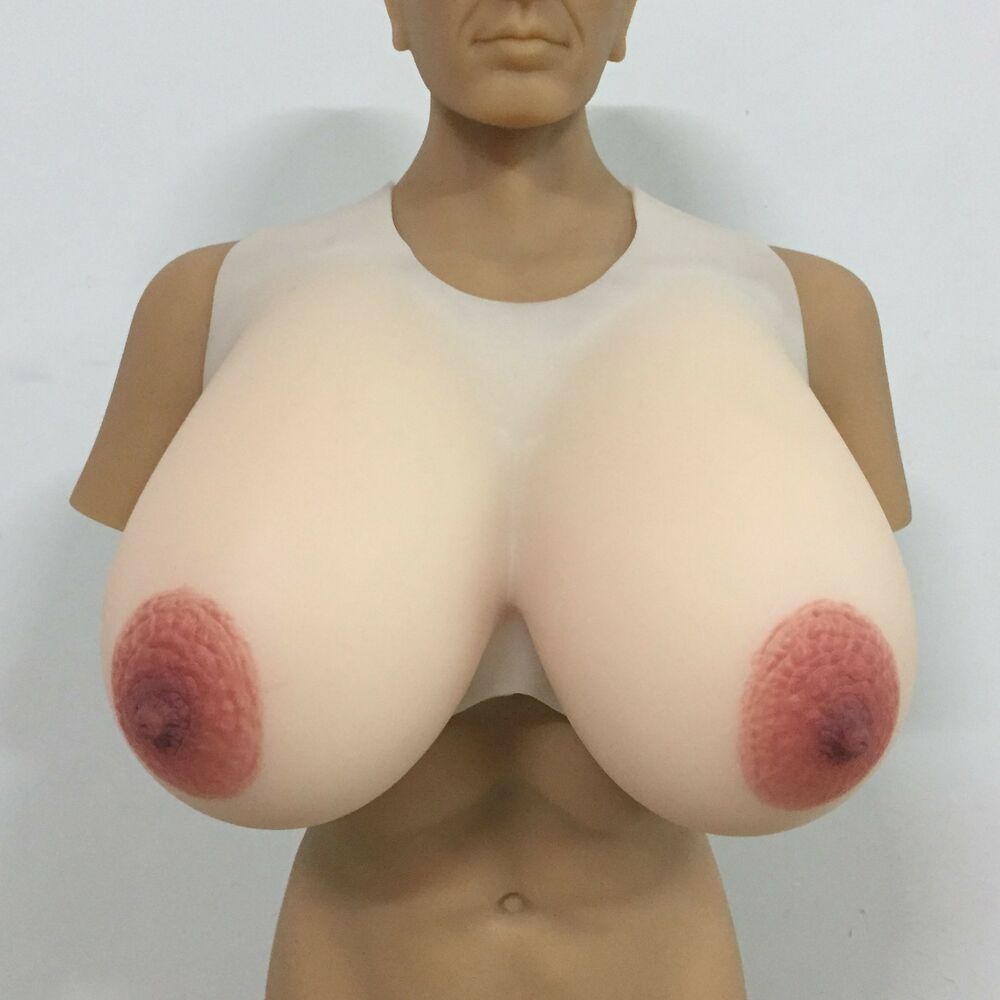 Large silicon breast forms