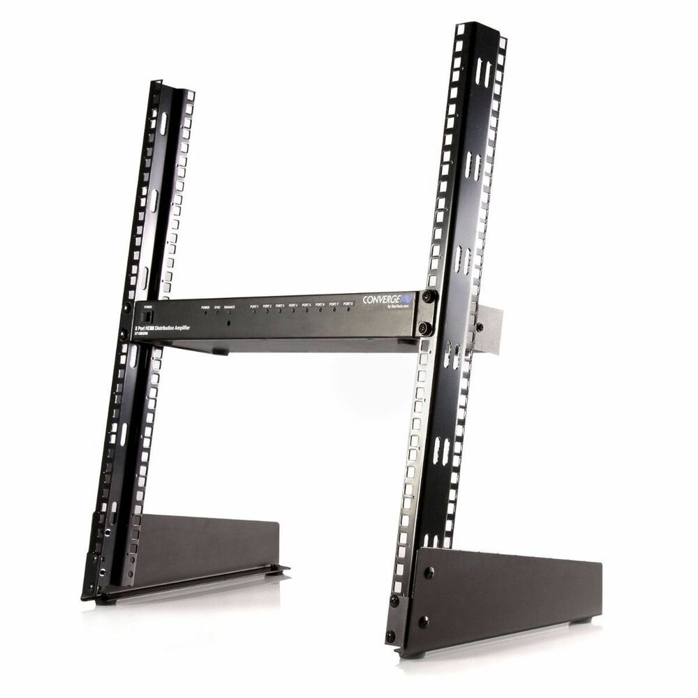 Desktop Rack Mount 12U Network Audio Components Stand Lab ...