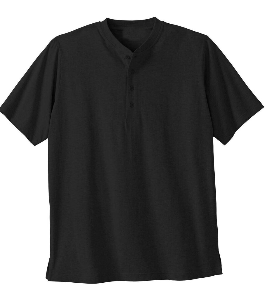1 big tall mens black short sleeve shirt sizes 6xl for Tall mens dress shirts