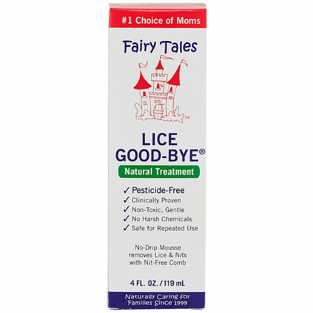 Fairy Tales Lice Good Bye Natural Treatment