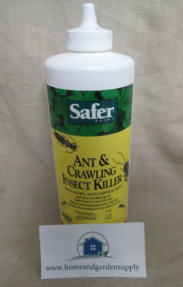 Safer Brand Ant And Crawling Insect Killer Diatomaceous