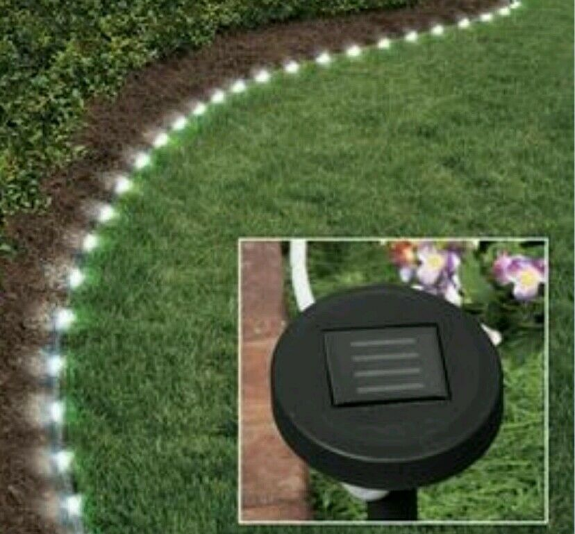 Solar Landscape Lights Outdoor: Solar Rope Path Light 16 FEET LED Garden Outdoor Light