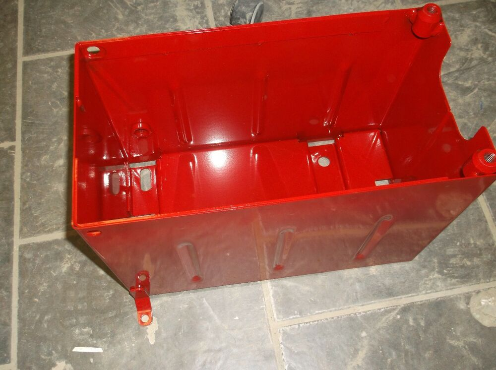 Farmall H Battery : Ih farmall super m mta battery box under seat w
