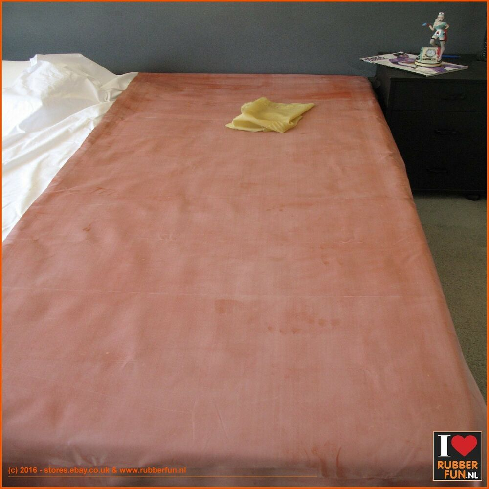 Genuine mackintosh rubber bed protector - clinical red ...