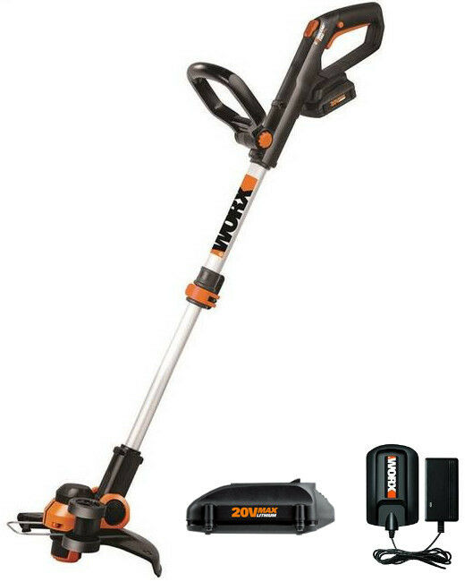 Wg163 Worx 20v Gt 3 0 Cordless String Trimmer Amp Edger 2