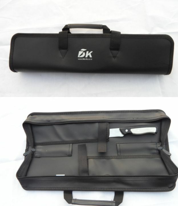 4 pocket chef knife bag outdoor knife case roll bag cutlery holder wallet pouch ebay. Black Bedroom Furniture Sets. Home Design Ideas