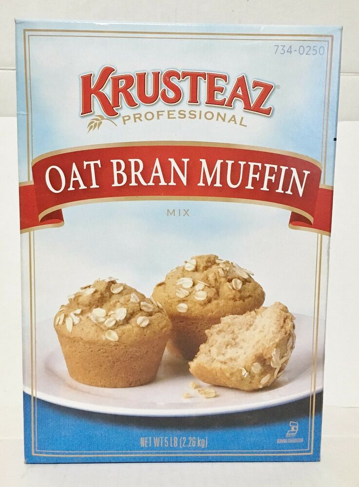 5 pounds krusteaz oat bran muffin mix ebay for Atkins cuisine all purpose baking mix where to buy
