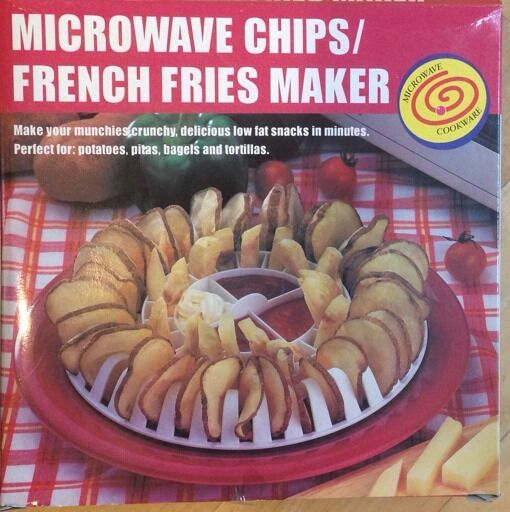 Microwave Chip French Fries Maker Brand New In Box Free Shipping Ebay