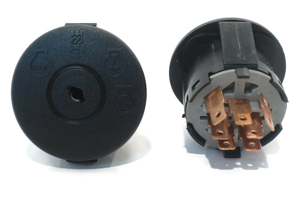Tractor Ignition Switch Replacement : Ignition starter key switch for husqvarna  lawn