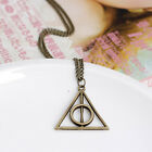 Hot Movie Harry Potter -Deathly Hallows Metal Silver Necklace Pendant As Gifts