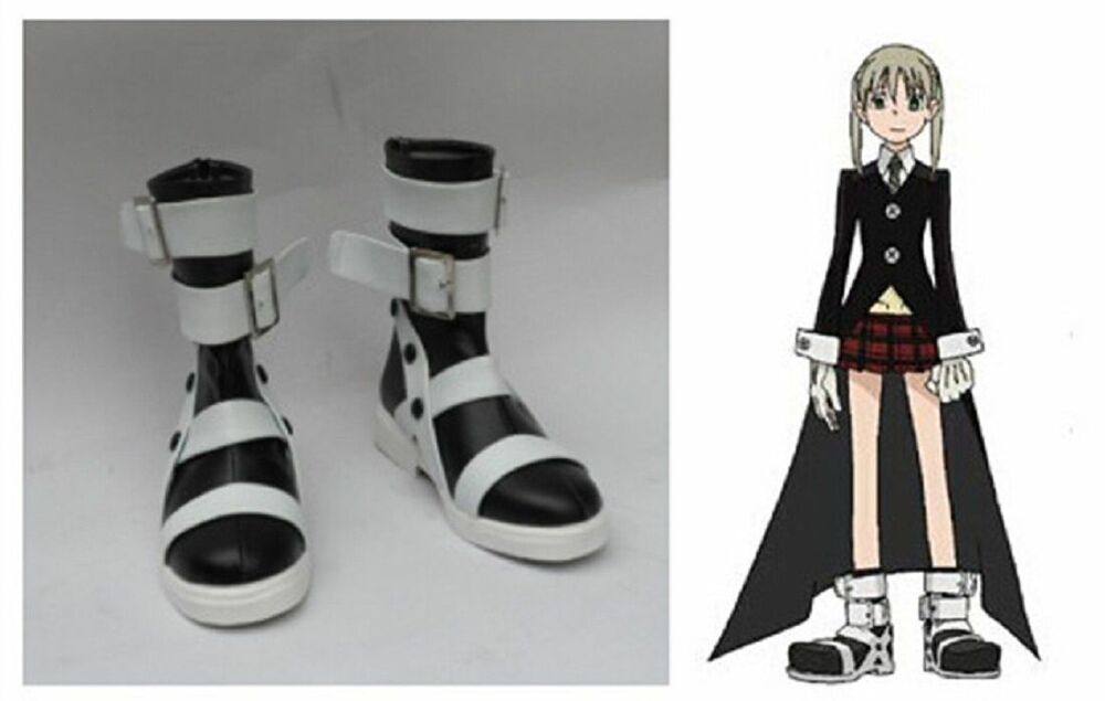 Soul Eater Maka Albarn Cosplay Costume Boots Boot Shoes ...