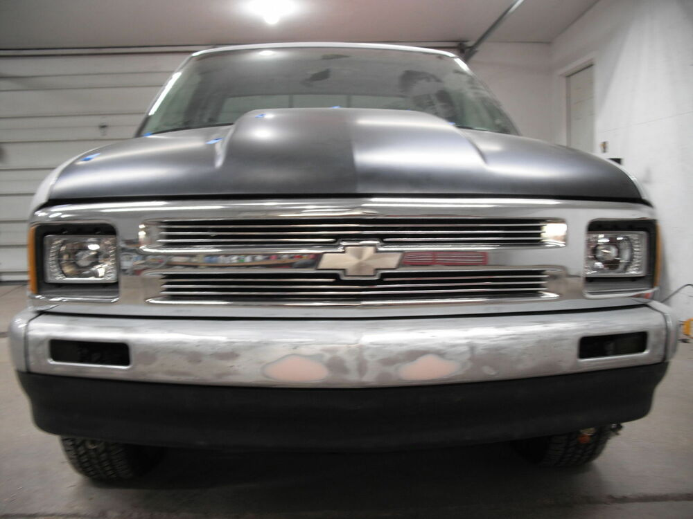 chevy s 10 pick up 1994 1997 upper billet grille grill. Black Bedroom Furniture Sets. Home Design Ideas