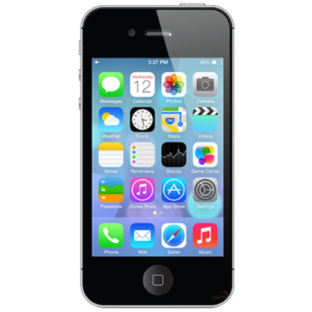 Apple iPhone 4 - 16GB - Black (Factory Unlocked) Smartphone ...
