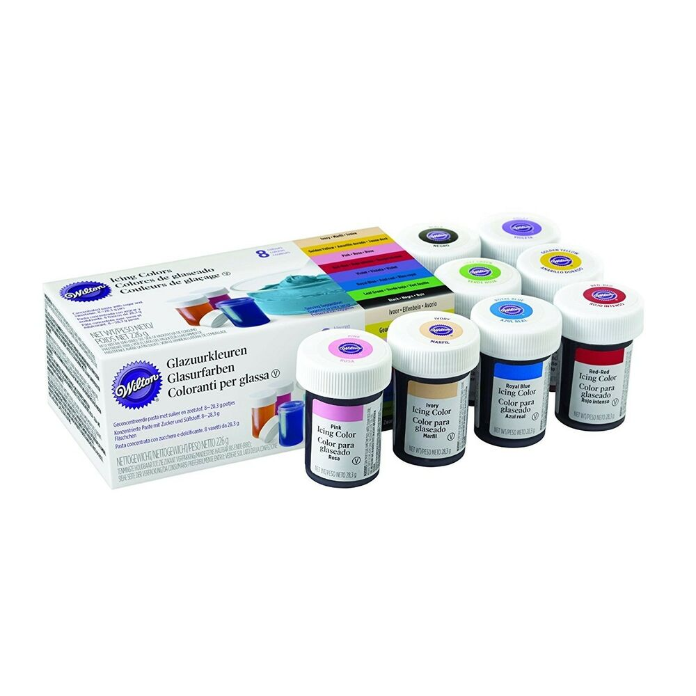 Pms Cake Decorating Kit Instructions : Wilton Icing Colour Gel Paste for Cake & Cupcake ...