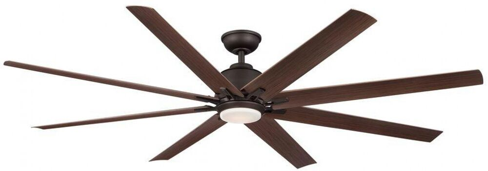 72 In Indoor Outdoor Large Ceiling Fan Oil Rubbed Bronze