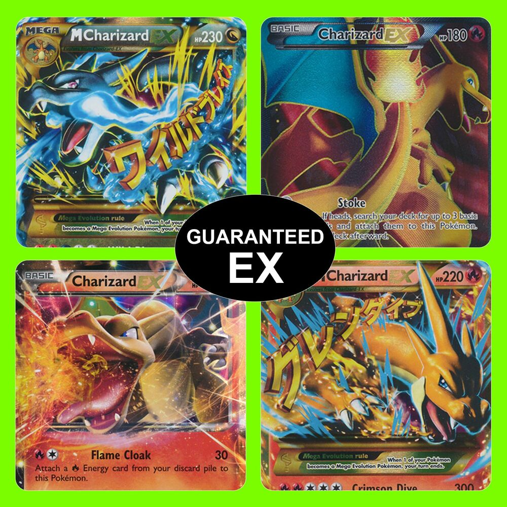 Pokemon Tcg 5 Card Lot Guaranteed Ex Full Art Ex Or