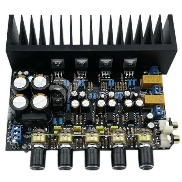 Lm1875 Amp Board 2 1 Channel Bass Differential Amplifier