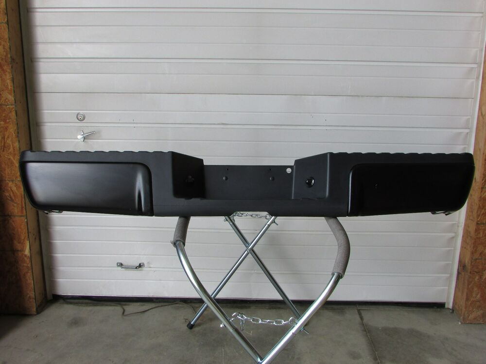 2008 2015 ford f250 f350 super duty painted rear bumper ebay. Black Bedroom Furniture Sets. Home Design Ideas