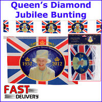 120Meter 400 FEET Queen Diamond Jubilee Union Jack Bunting 240Flags STREET PARTY
