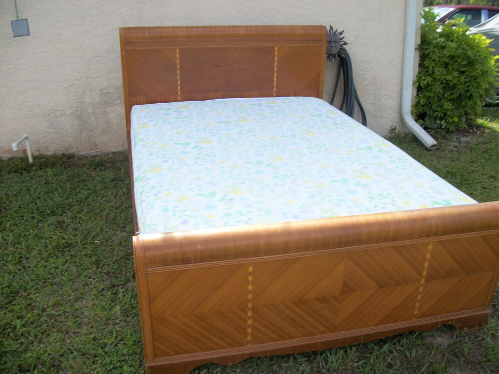 Waterfall 3 Piece Bedroom Set 1930 S Or 1940 S Ebay