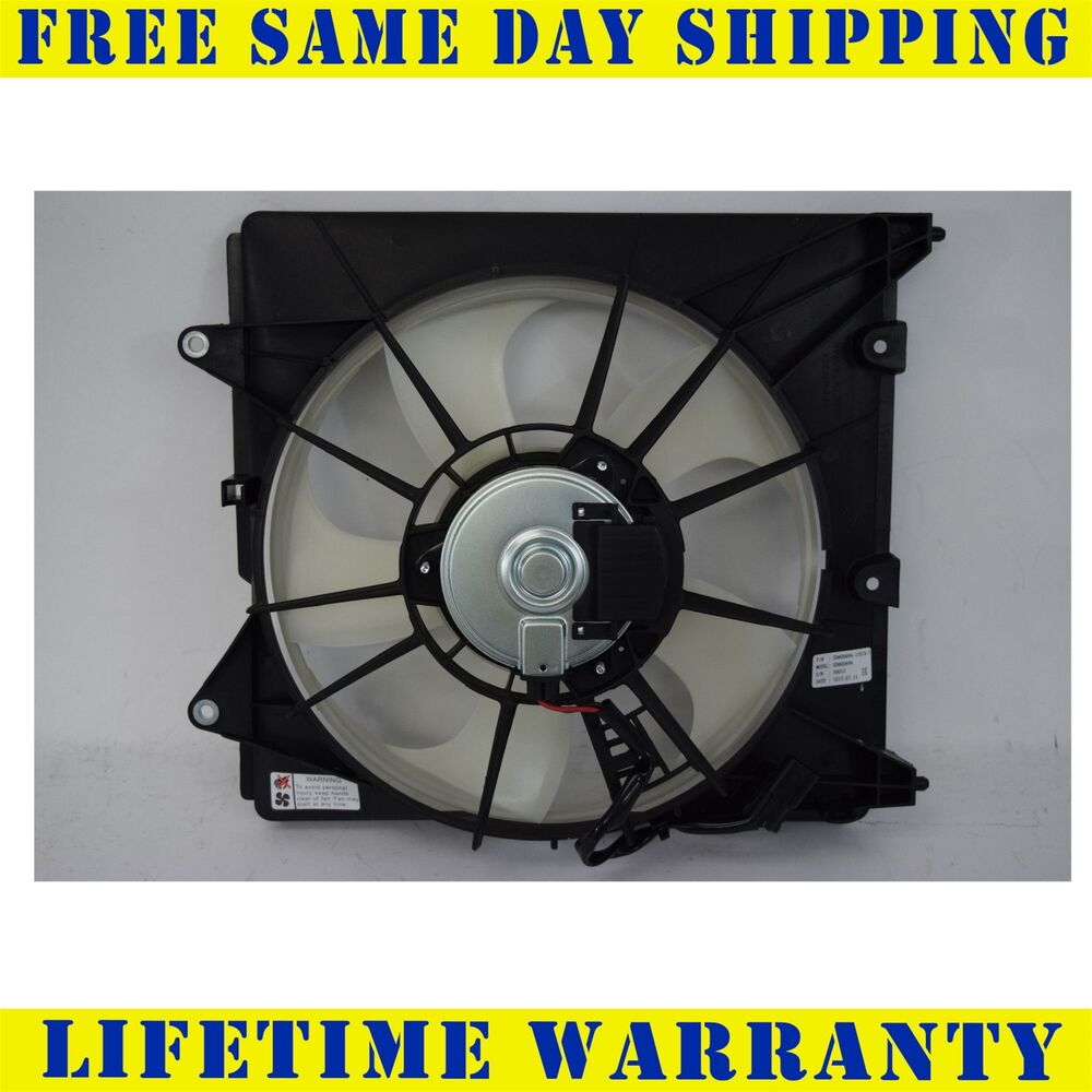 2007 Acura Rdx Cooling Fan Assembly Condenser Side: Radiator Cooling Fan For Honda Fits Fit 1.5 HO3115166