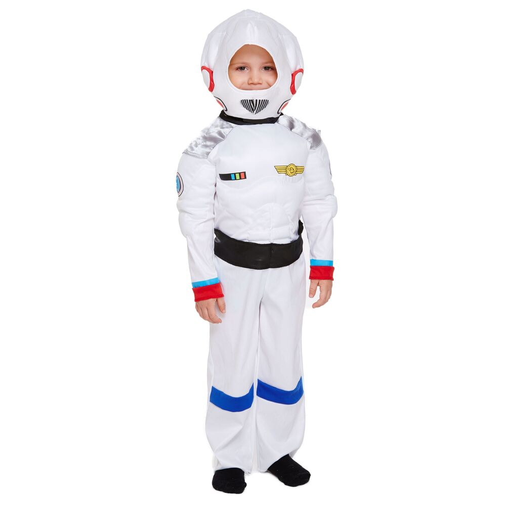 Space Suit Boy Fancy Dress Up Costume Party Astronaut Moon ...