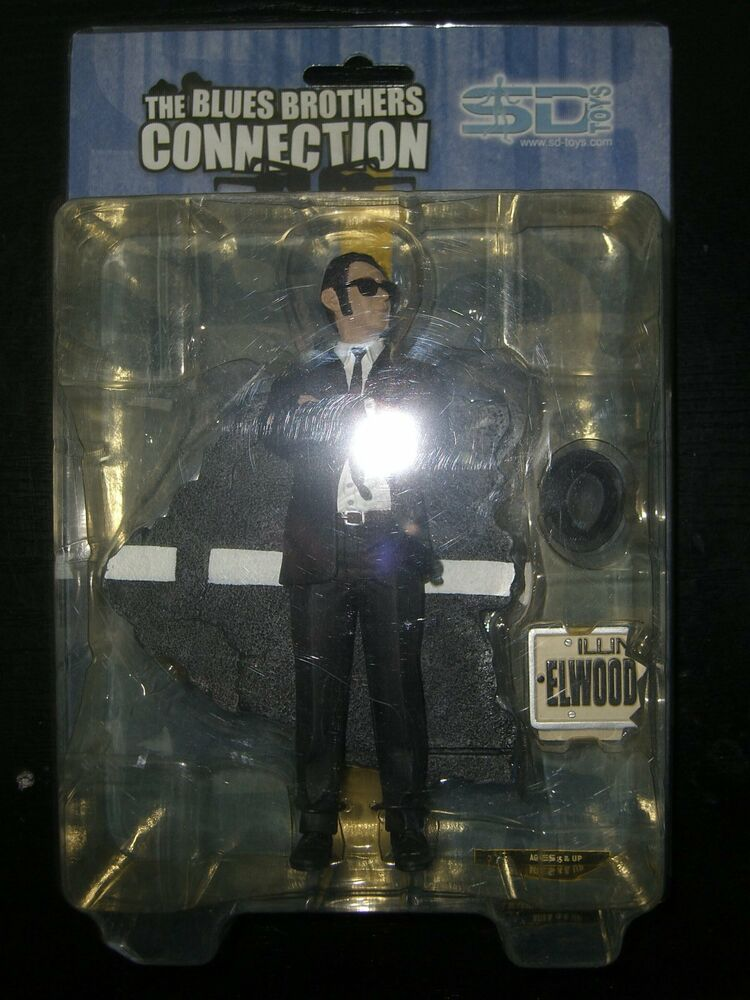 Toys For Brothers : The blues brothers connection elwood dan aykroyd figure sd