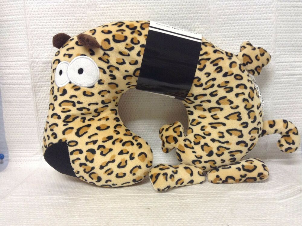 Animal Travel Pillow : TRAVEL NECK PILLOWS FOR KIDS ANIMAL & FRUIT DESIGNS SNUGGLY & CUDDLY NECK BUDDY eBay