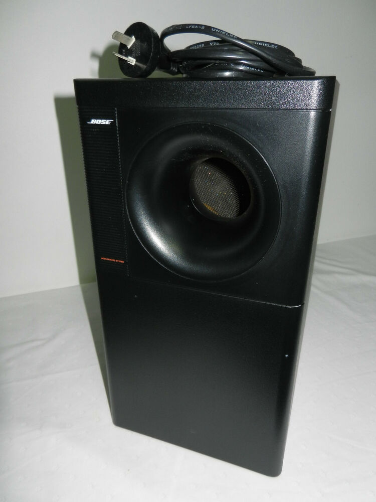 bose 5 1 powered acoustimass 9 active subwoofer ebay. Black Bedroom Furniture Sets. Home Design Ideas