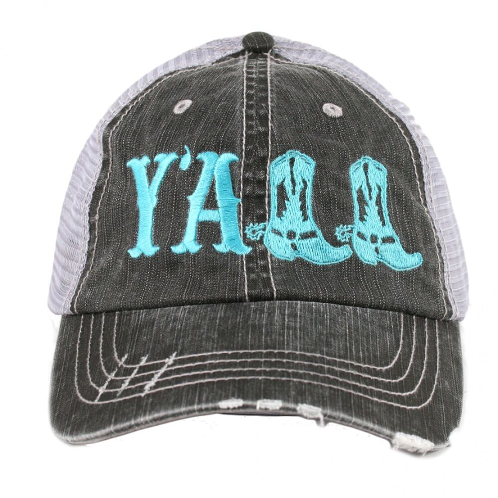 Y All Women S Trucker Hat Brand New 4 Colors Ebay