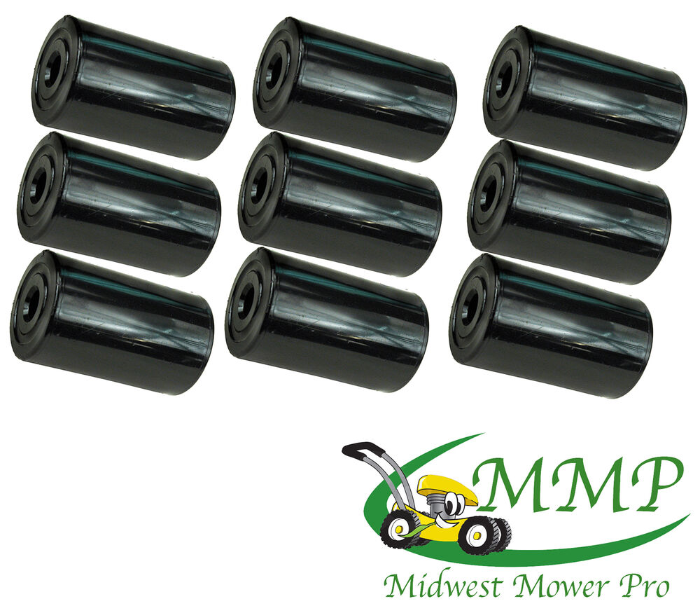 set of 9 deck rollers replaces simplicity 1668513 1668513sm 12999 ebay. Black Bedroom Furniture Sets. Home Design Ideas