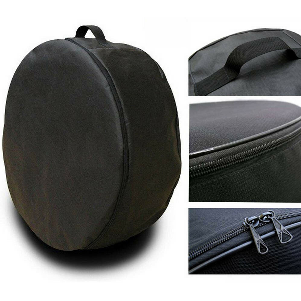 black wheel cover spare tire holder seasonal storage protector bags size 13 s ebay. Black Bedroom Furniture Sets. Home Design Ideas