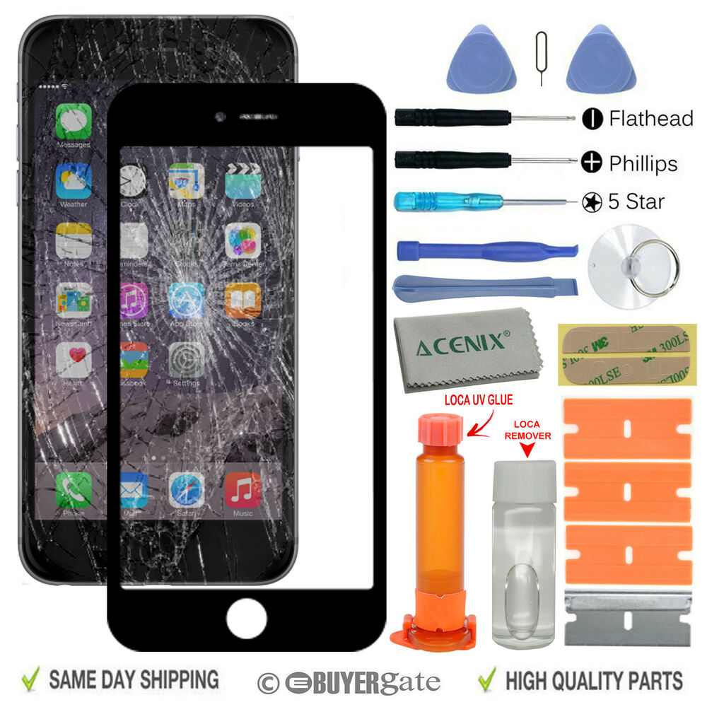 apple iphone 6 4 7 inches front glass screen. Black Bedroom Furniture Sets. Home Design Ideas