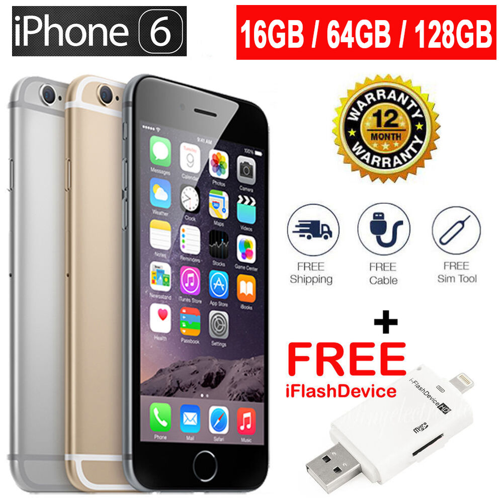 factory unlock iphone 6 original apple iphone 6 4g lte gsm smartphone 100 factory 3516