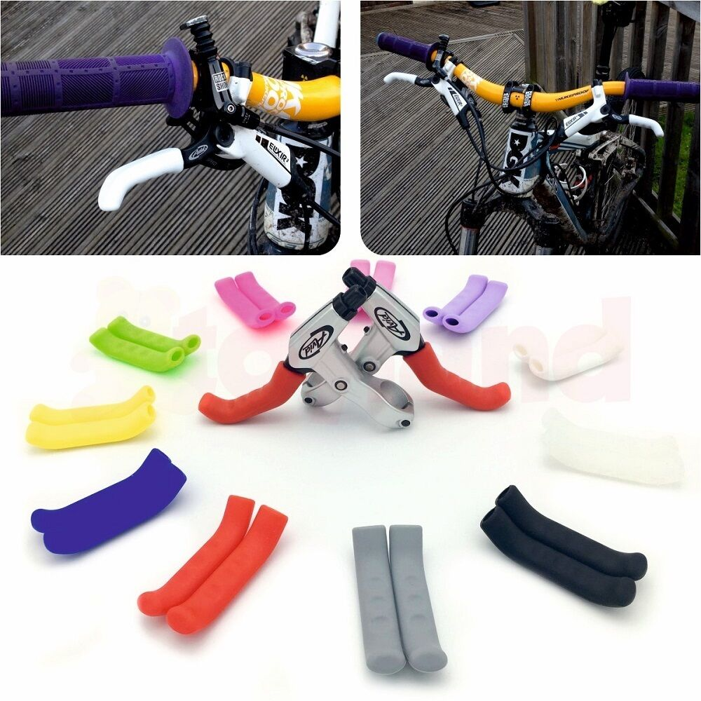 Brake Handle Sleeve Rubber Handlebar Tape Bicycle Accessories Protection Covers