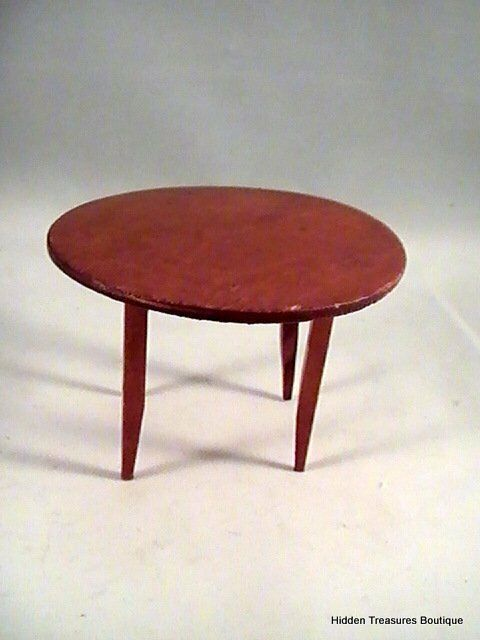 Miniature Dollhouse Furniture Wooden Dining Room Table EBay