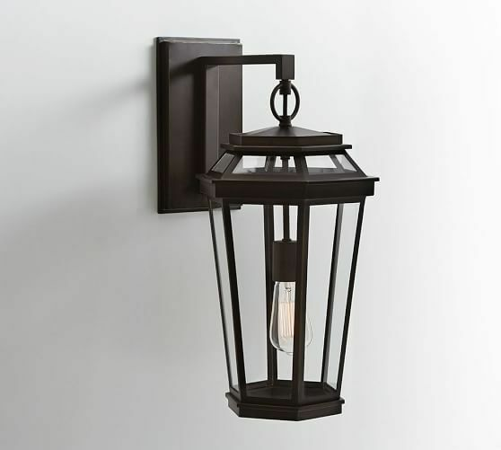 Patio Lights Pottery Barn: Pottery Barn Chateau Indoor/Outdoor Wall Sconce Light