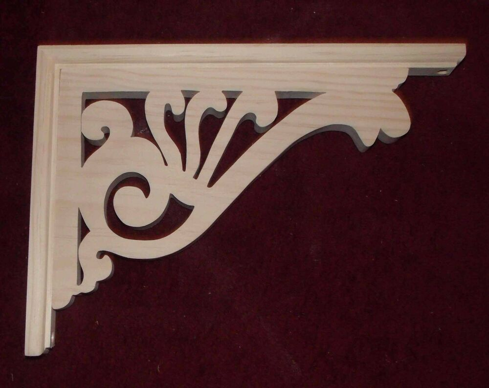 Victorian wood gingerbread 10 x 13 porch house trim for Architectural gingerbread trim