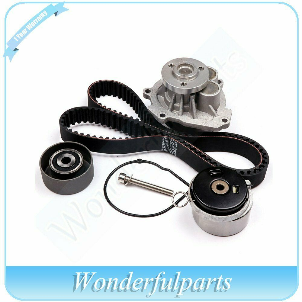 pontiac timing belt smart timing belt new timing belt water pump w/ belt tensioner kit fits 2009 ... #2