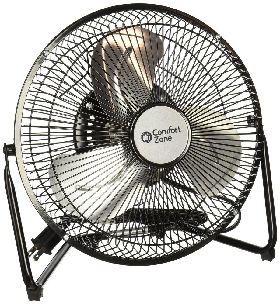 Comfort zone czhv9b 9inch 3 speed high velocity cradle fan for Comfort zone