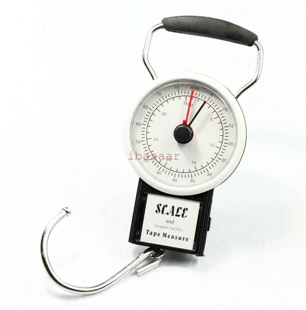 Measuring Scale Pole Rod : Kg travel luggage fishing portable scale with m measure