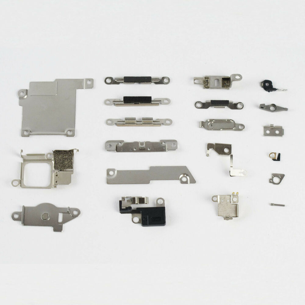 Small Aluminum Parts : Small metal parts holder bracket shield plate home logic