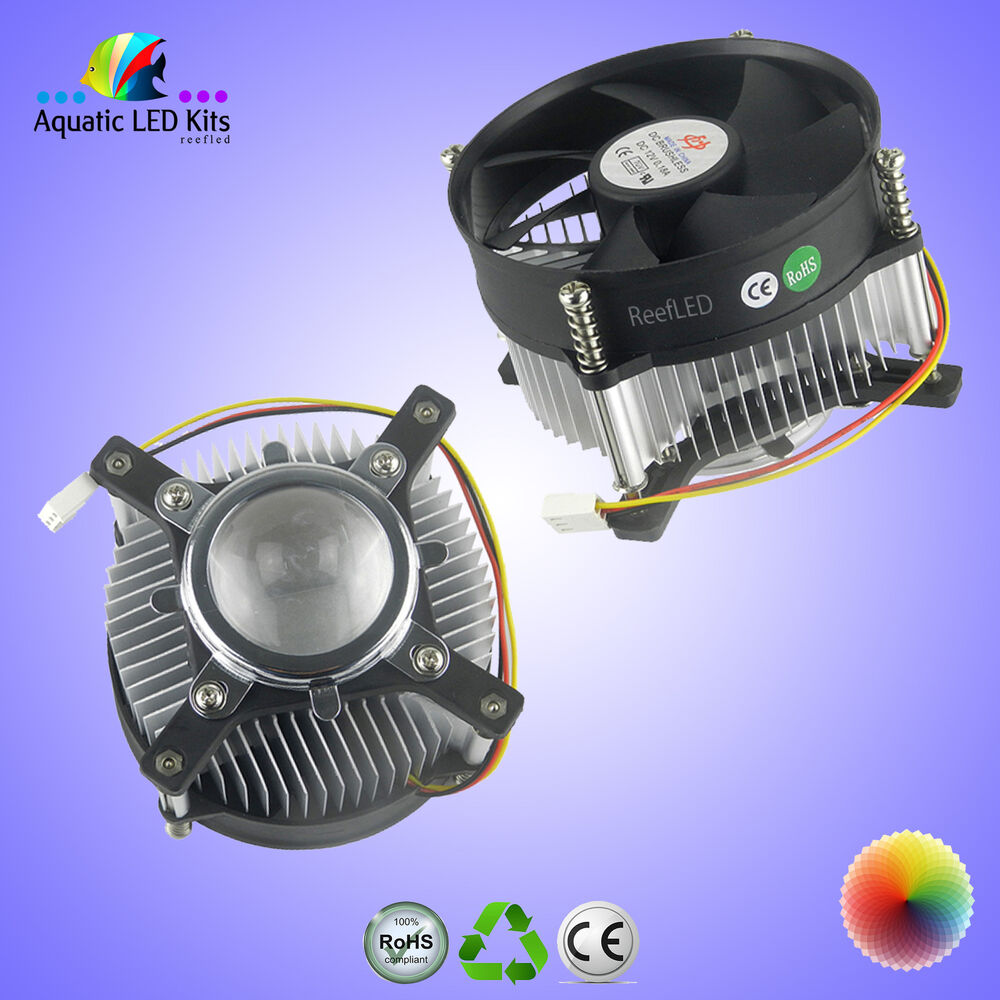 10 100 Watt High Power Led Chip Lens Reflector Collimator