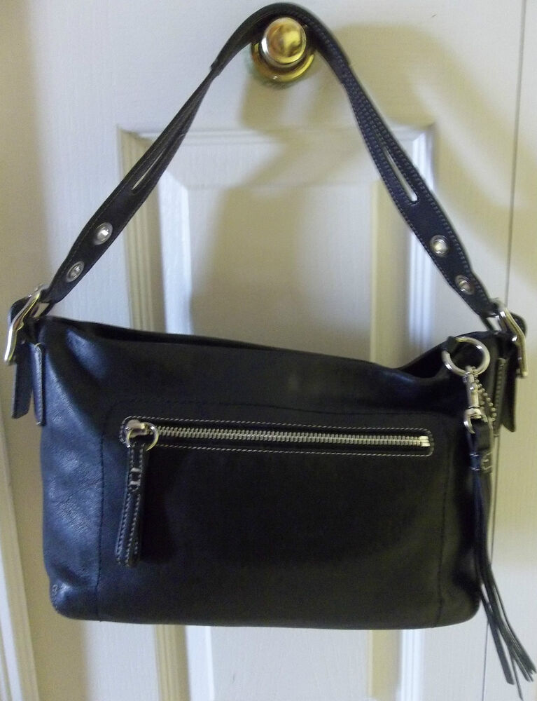Small Black Leather Bella Bag Handbag, Grained Leather, Knots Decoration On The Flap, Handle, Removable Leather Strap, Magnetic Closure, Inside Zip Pocket, Polished Nickel Finish Details, Size W29cm X H23cm X D12cm.
