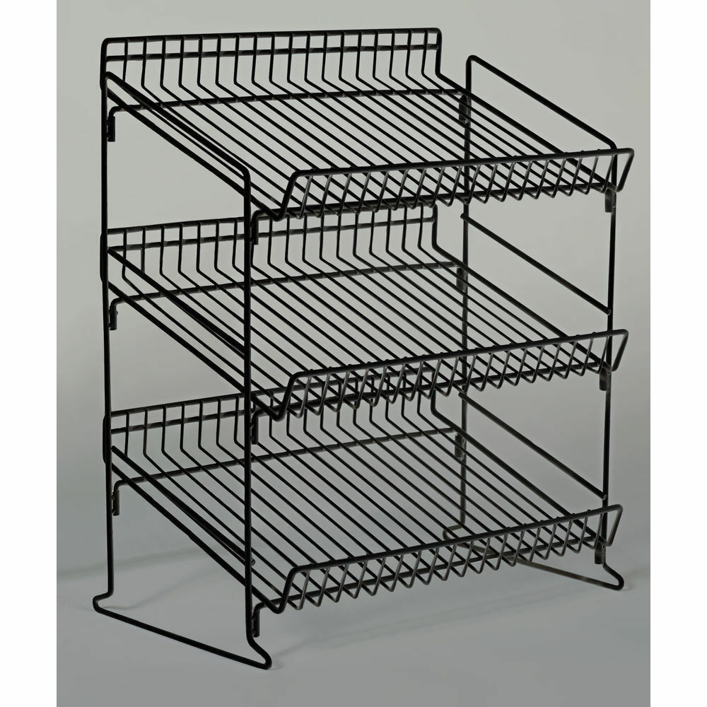 Retail Counter Display Rack 3 Tier Wire 93335